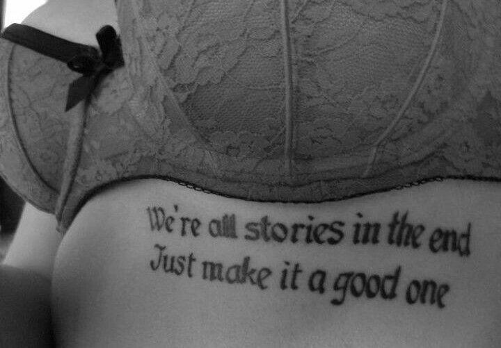 Tattoos Schriftzüge Mit Bedeutung (323)