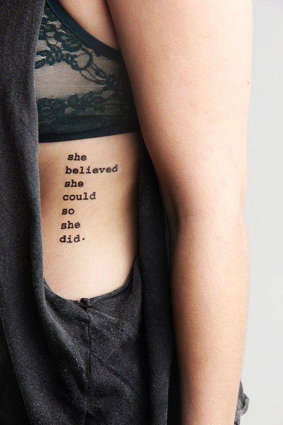 Tattoos Schriftzüge Mit Bedeutung (326)