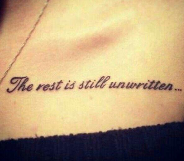 Tattoos Schriftzüge Mit Bedeutung (341)