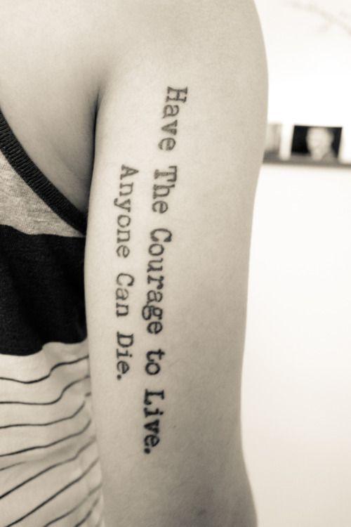 Tattoos Schriftzüge Mit Bedeutung (343)