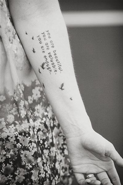 Tattoos Schriftzüge Mit Bedeutung (69)
