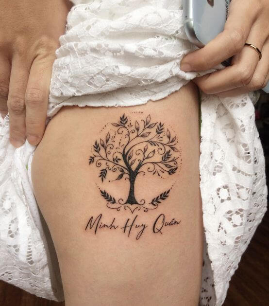 Tree Tattoos For Girls