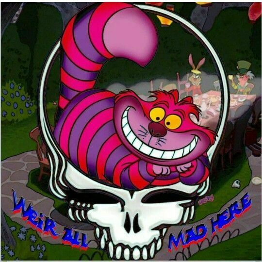 Cheshire Cat Tattoo Ideas Pictures (100)