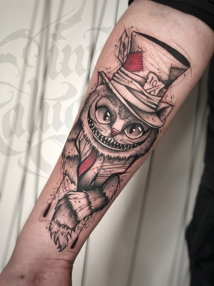 Cheshire Cat Tattoo Ideas Pictures (111)