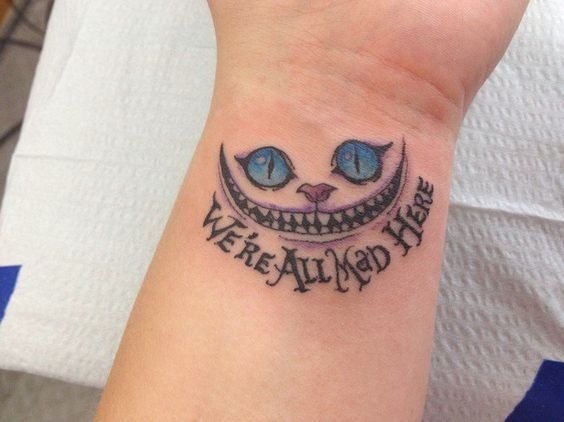 Cheshire Cat Tattoo Ideas Pictures (112)