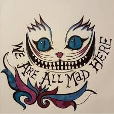 Cheshire Cat Tattoo Ideas Pictures (120)