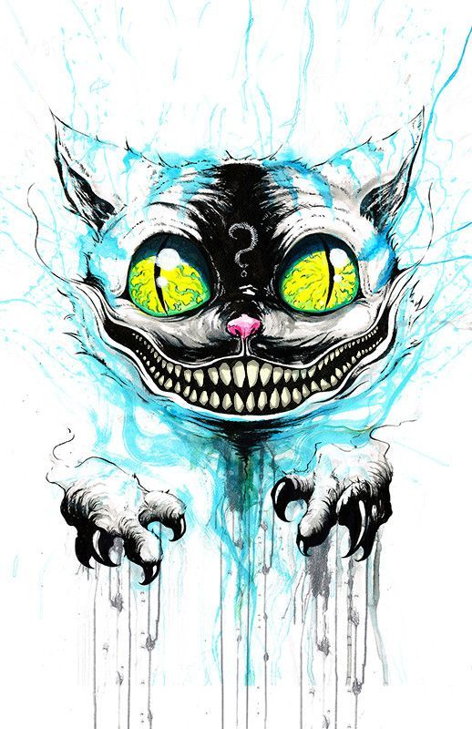 Cheshire Cat Tattoo Ideas Pictures (128)