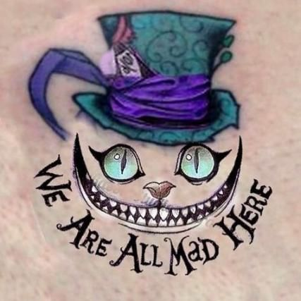 Cheshire Cat Tattoo Ideas Pictures (138)