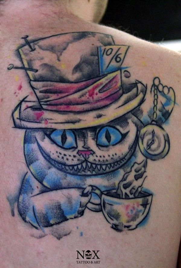 Cheshire Cat Tattoo Ideas Pictures (139)