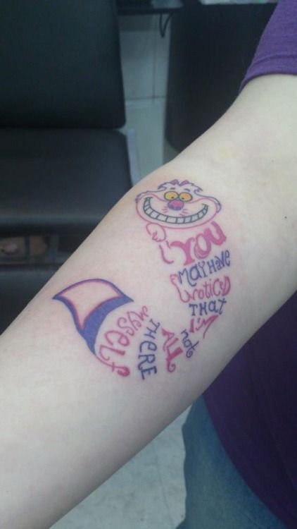 Cheshire Cat Tattoo Ideas Pictures (147)