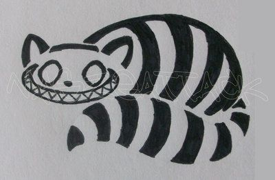 Cheshire Cat Tattoo Ideas Pictures (15)
