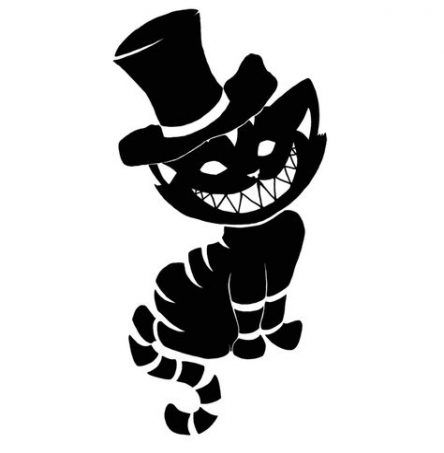 Cheshire Cat Tattoo Ideas Pictures (159)