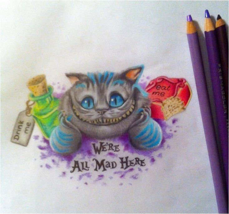 Cheshire Cat Tattoo Ideas Pictures (160)