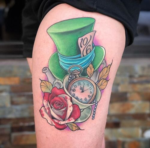 Cheshire Cat Tattoo Ideas Pictures (162)