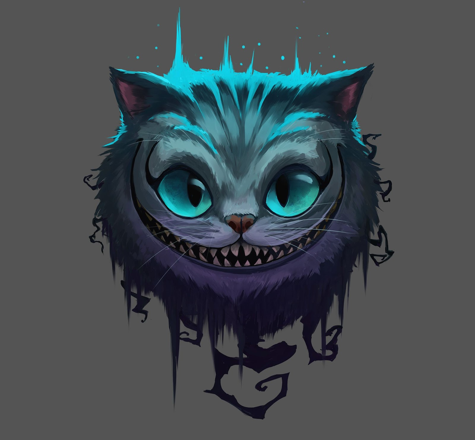 Cheshire Cat Tattoo Ideas Pictures (163)