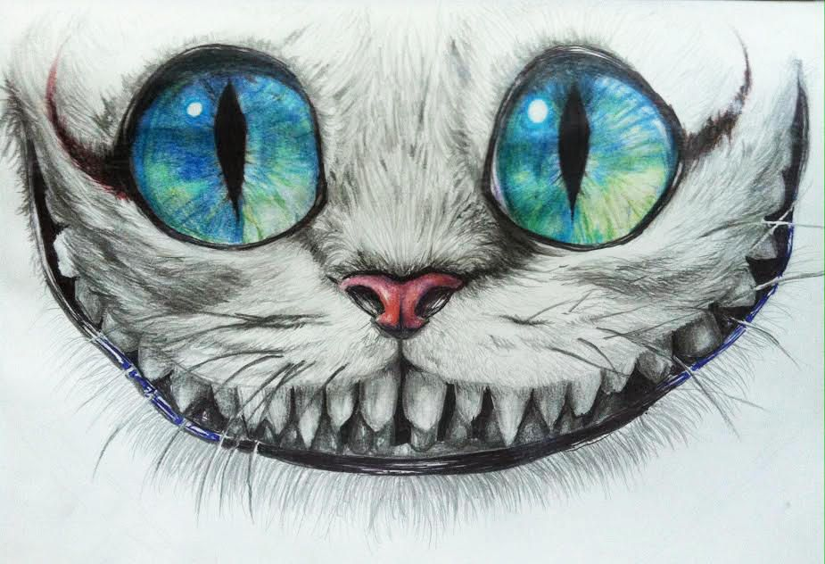 Cheshire Cat Tattoo Ideas Pictures (170)