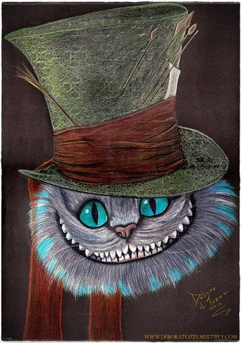 Cheshire Cat Tattoo Ideas Pictures (171)