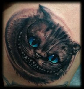 Cheshire Cat Tattoo Ideas Pictures (173)