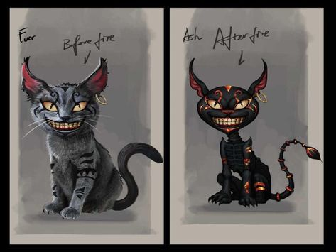 Cheshire Cat Tattoo Ideas Pictures (180)