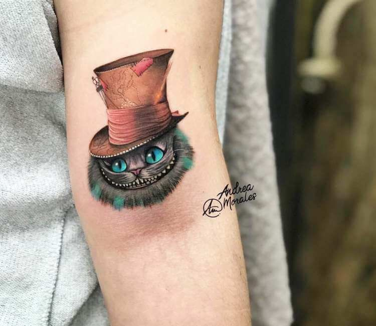 Cheshire Cat Tattoo Ideas Pictures (181)