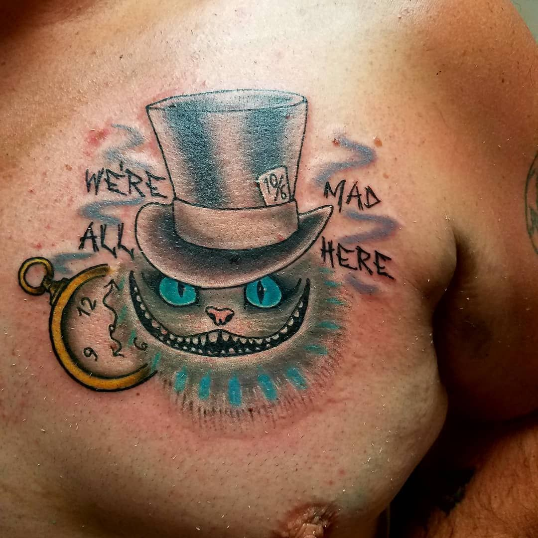 Cheshire Cat Tattoo Ideas Pictures (187)