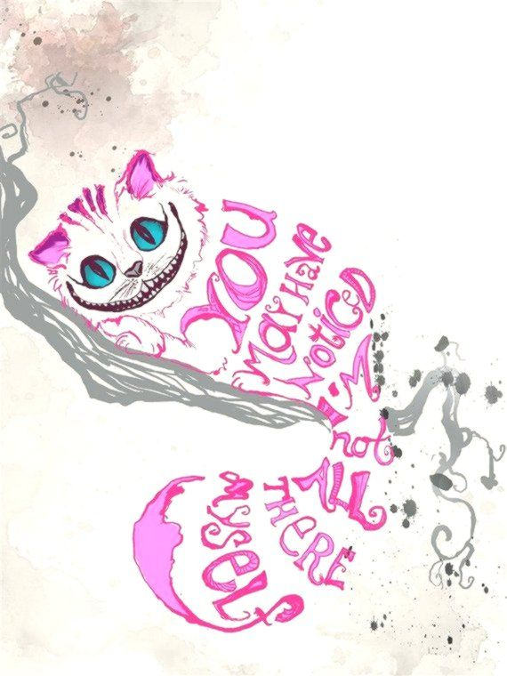 Cheshire Cat Tattoo Ideas Pictures (189)
