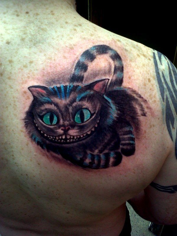 Cheshire Cat Tattoo Ideas Pictures (191)