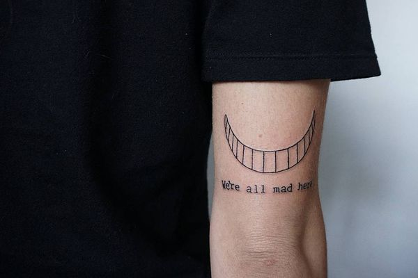 Cheshire Cat Tattoo Ideas Pictures (192)