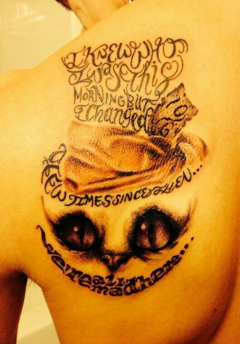Cheshire Cat Tattoo Ideas Pictures (194)