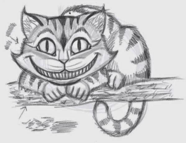 Cheshire Cat Tattoo Ideas Pictures (197)