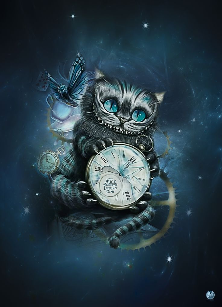 Cheshire Cat Tattoo Ideas Pictures (200)