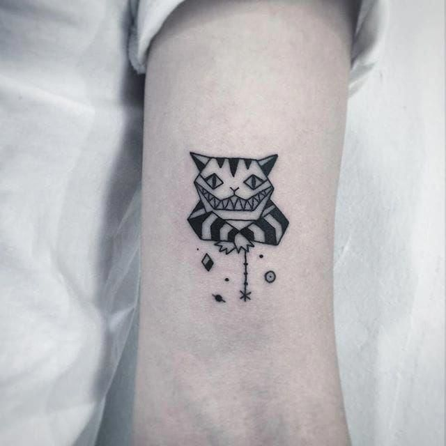 Cheshire Cat Tattoo Ideas Pictures (217)