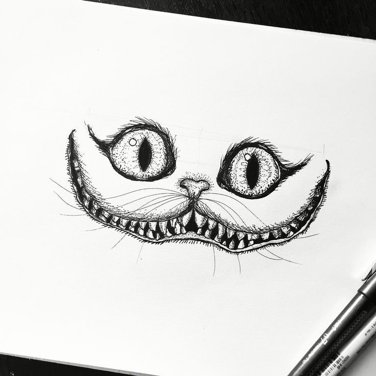 Cheshire Cat Tattoo Ideas Pictures (27)
