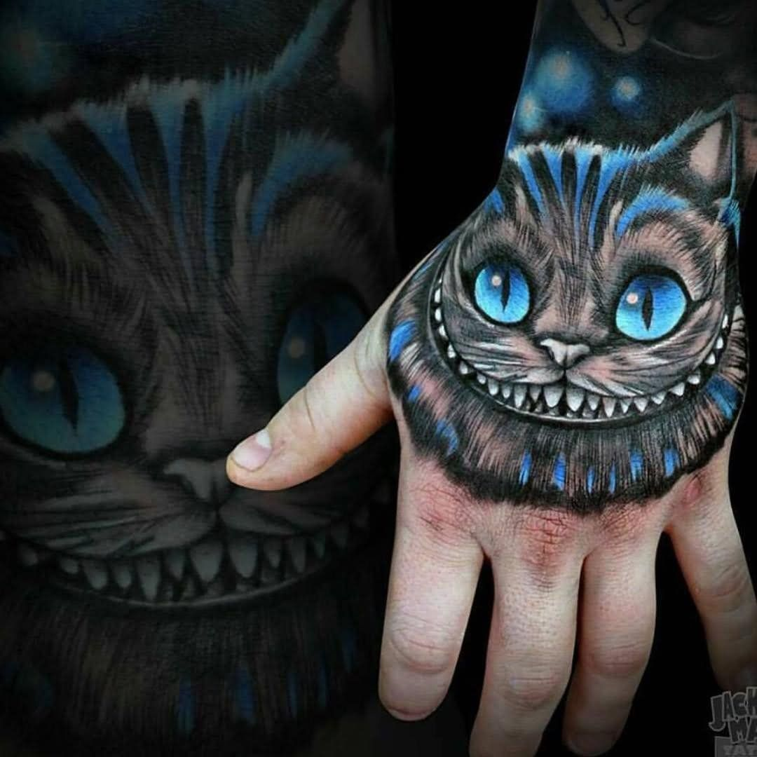 Cheshire Cat Tattoo Ideas Pictures (4)