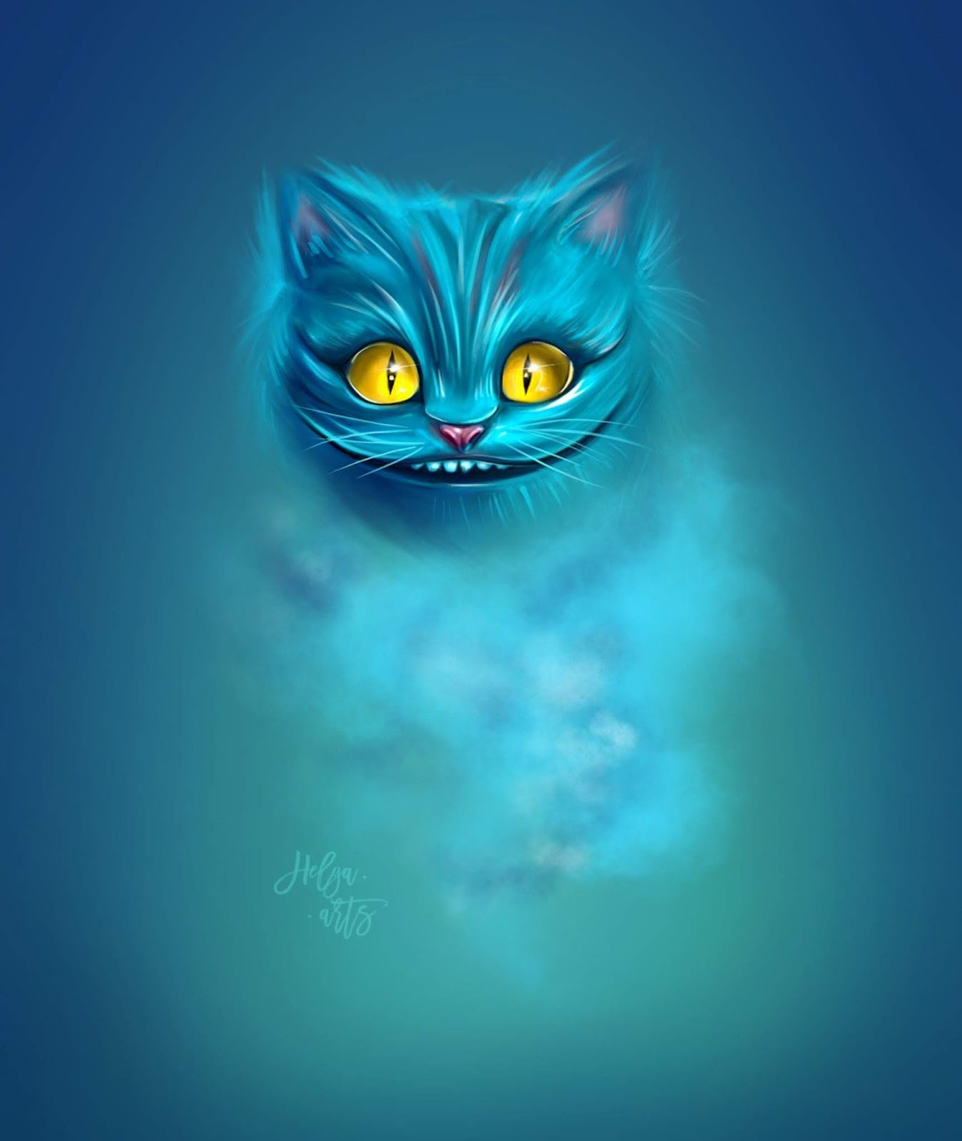 Cheshire Cat Tattoo Ideas Pictures (45)