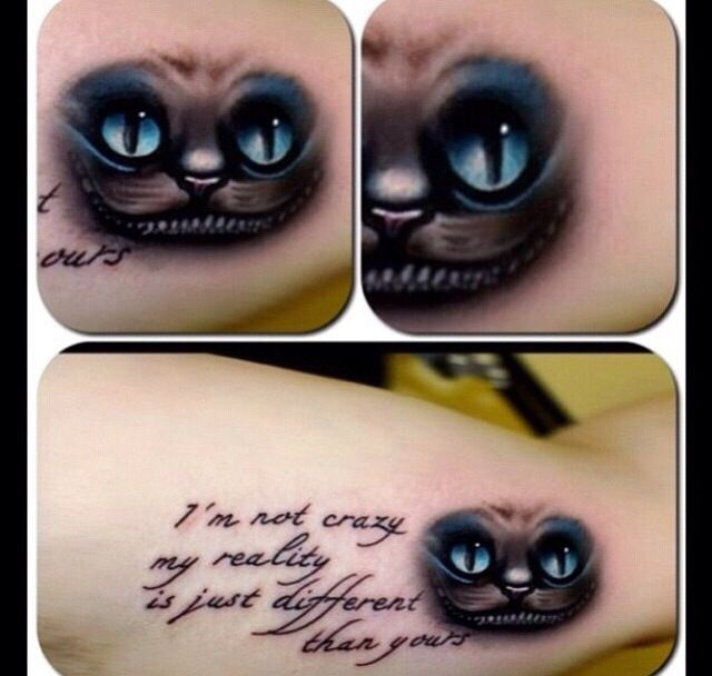 Cheshire Cat Tattoo Ideas Pictures (46)