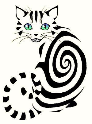 Cheshire Cat Tattoo Ideas Pictures (50)