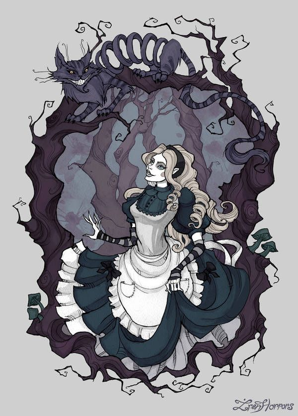 Cheshire Cat Tattoo Ideas Pictures (58)