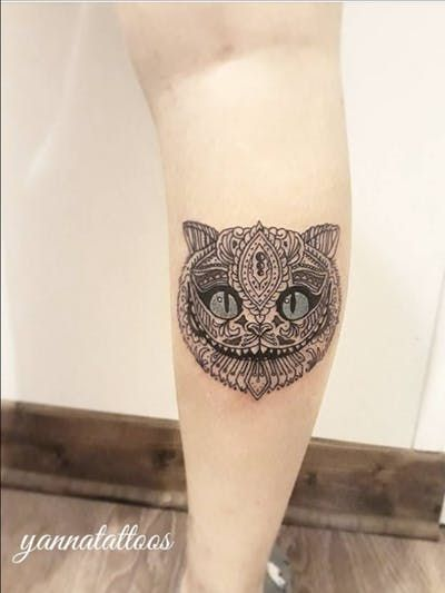 Cheshire Cat Tattoo Ideas Pictures (59)