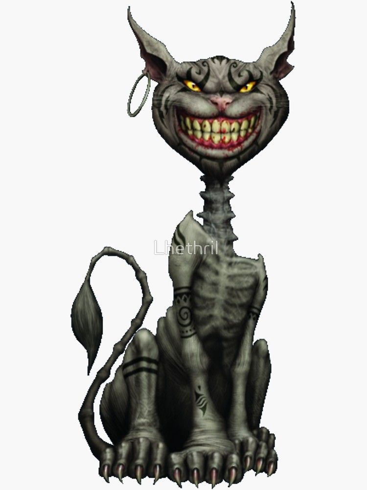 Cheshire Cat Tattoo Ideas Pictures (63)