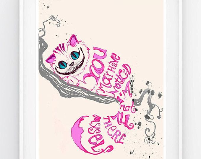Cheshire Cat Tattoo Ideas Pictures (7)