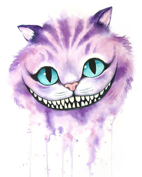 Cheshire Cat Tattoo Ideas Pictures (70)