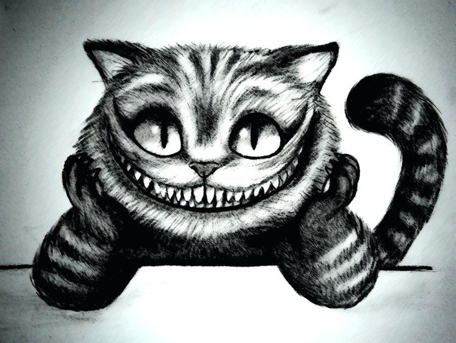 Cheshire Cat Tattoo Ideas Pictures (72)