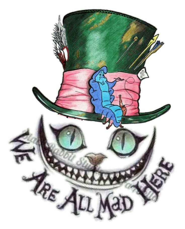 Cheshire Cat Tattoo Ideas Pictures (74)