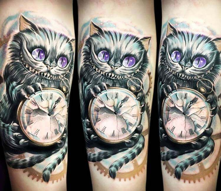 Cheshire Cat Tattoo Ideas Pictures (77)