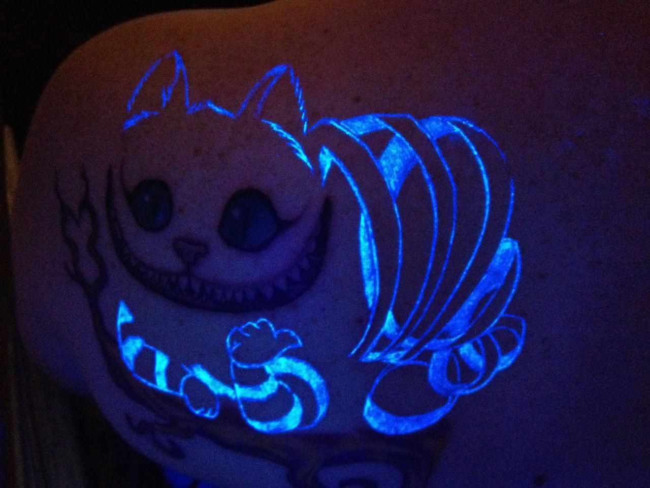 Cheshire Cat Tattoo Ideas Pictures (8)
