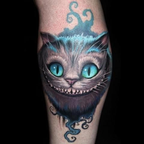 Cheshire Cat Tattoo Ideas Pictures (83)