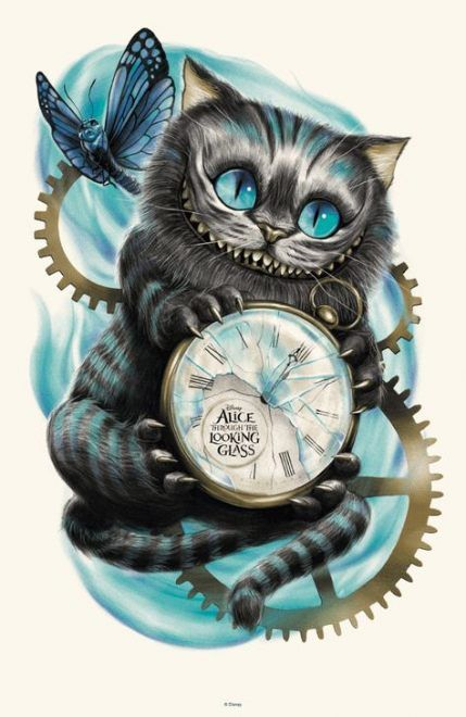 Cheshire Cat Tattoo Ideas Pictures (85)