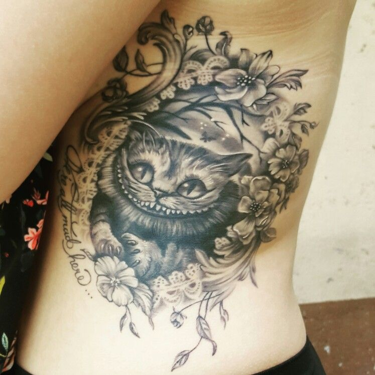 Cheshire Cat Tattoo Ideas Pictures (87)