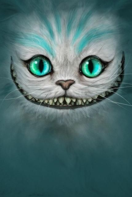 Cheshire Cat Tattoo Ideas Pictures (89)